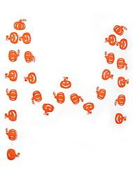 Недорогие -Праздничные украшения Украшения для Хэллоуина Хэллоуин Развлекательный Декоративная / Cool Оранжевый 30шт / 1шт