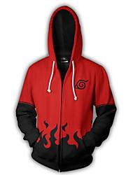 cheap -Naruto Naruto Uzumaki Hoodie Terylene For Men's / Women's