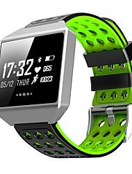 Недорогие -Indear CK12 Женский Умный браслет Android iOS Bluetooth Спорт Водонепроницаемый Пульсомер Измерение кровяного давления Сенсорный экран / Датчик для отслеживания активности / Найти мое устройство