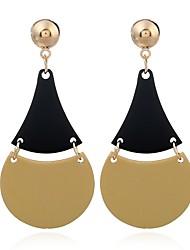 cheap -Women's Drop Earrings Retro Creative Ladies Vintage Ethnic Earrings Jewelry Black / Silver For Formal Date 1 Pair
