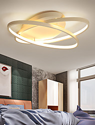 cheap -2-Light 53 cm Flush Mount Lights Aluminum Linear Painted Finishes Contemporary LED 110-120V 220-240V