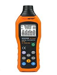Недорогие -ms6208b Цифровой бесконтактный тахометр 50-250 мм с регистрацией данных 100 групп