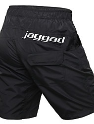 cheap -Jaggad Men's Cycling Padded Shorts Cycling MTB Shorts Nylon Elastane Bike Shorts Baggy Shorts MTB Shorts Breathable Sports Solid Color Black Mountain Bike MTB Clothing Apparel Bike Wear / Athletic
