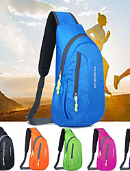 cheap -8 L Lightweight Packable Backpack Hiking Sling Backpack Breathable Straps - Lightweight Breathable Rain Waterproof Compact Outdoor Running Fishing Hiking Polyester Black Purple Fuchsia / Yes