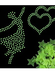 cheap -100pcs/bag Glow in the Dark Toys Luminous Star Stickers Bedroom Sofa Fluorescent Painting Toy Stickers for Kids Room