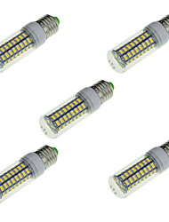 cheap -5pcs 16 W LED Corn Lights 1650 lm E14 E26 / E27 72 LED Beads SMD 5730 Decorative Warm White Cold White 220-240 V / 5 pcs / RoHS