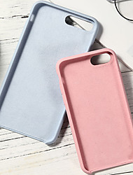 cheap -Case For Apple iPhone XS / iPhone XR / iPhone XS Max Shockproof Back Cover Solid Colored Soft Silicone