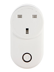 cheap -WETO W-T03 UK WiFi Smart Plug for Smart Home Remote Control Works With Alexa Google Home Timer Socket for iOS Android