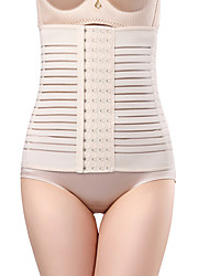 cheap -Women's Hook & Eye Underbust Corset / Overbust Corset - Solid Colored, Cut Out Without Lining Black Camel S M L / Sexy