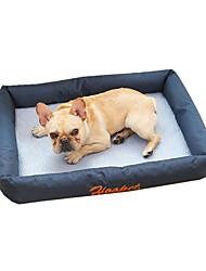 cheap -Dog Pets Bed Sofa Cushion Lounge Sofa Breathable Washable Cartoon Pet Mats & Pads Oxford Cloth Solid Colored Green Dark Blue