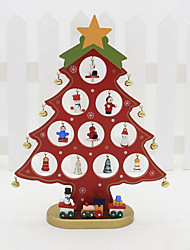 cheap -Ornaments Holiday Wooden Party Christmas Decoration