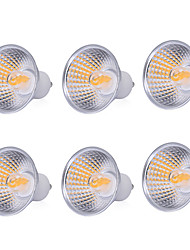 cheap -YWXLight®  High Power 6PCS 5W Light Cup MR16 GU10 COB LED Light Cup  LED Bulb LED Spotlight Lamp AC 220-240V AC 110-130V