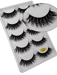 cheap -Eyelash Extensions 10 pcs Thick Multi-tool Natural Curly Thick Animal wool eyelash Daily Wear Thick - Makeup Daily Makeup Portable High Quality Cosmetic Grooming Supplies