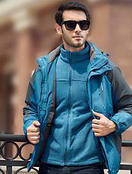 cheap -Men's Hiking Jacket Winter Outdoor Windproof Rain Waterproof Anatomic Design Thick 3-in-1 Jacket Ski / Snowboard Fishing Climbing Black Green Royal Blue M L XL XXL XXXL / Camping / Hiking / Caving