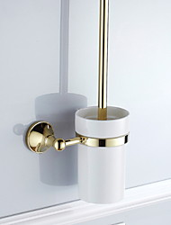 cheap -Toilet Brush Holder Premium Design Contemporary Brass 1pc Wall Mounted