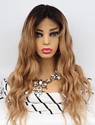 cheap -Unprocessed Human Hair Lace Front Wig Middle Part Wendy style Brazilian Hair Body Wave Wig 130% Density with Baby Hair Easy dressing Natural Hairline 100% Virgin Unprocessed Women's Long Human Hair