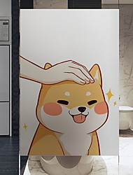 cheap -Window Film & Stickers Decoration Ordinary Character PVC(PolyVinyl Chloride) Adorable