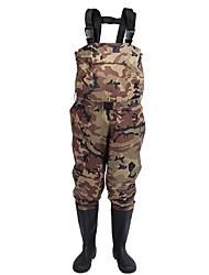abordables -Homme Salopette d'Extérieur Pantalons / Surpantalons Bottes en caoutchouc Etanche Respirabilité Hiver De plein air Pêche