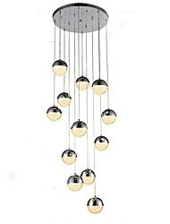 cheap -12 Bulbs 50 cm Chandelier Metal Electroplated Traditional / Classic 110-120V / 220-240V