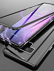 cheap -Case For Samsung Galaxy Note 9 / Note 8 Translucent Full Body Cases Solid Colored Hard Tempered Glass