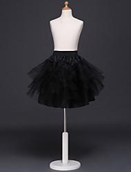 cheap -Black Swan Petticoat Hoop Skirt Tutu Under Skirt 1950s White Black / Crinoline