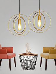 cheap -1-Light 28 cm Pendant Light Metal Mini Gold Contemporary / Artistic AC100-240V