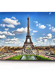 cheap -MacBook Case Eiffel Tower Scenery PVC for Macbook Air Pro Retina 11 12 13 15 Laptop Cover Case for Macbook New Pro 13.3 15 inch with Touch Bar