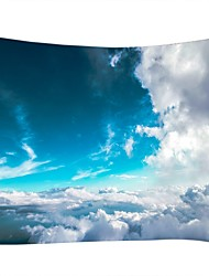 cheap -Landscape / Family Wall Decor 100% Polyester Modern Wall Art, Wall Tapestries Decoration