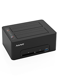 cheap -MAIWO USB 3.0 to SATA 3.0 External Hard Drive Docking Station Plug and play / Support Offline Copy / One Touch Backup 20000 GB K3082CR