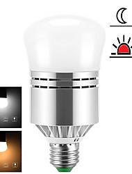 cheap -1pc 12 W LED Globe Bulbs 1200 lm E26 / E27 24 LED Beads SMD 2835 New Design Light Control Warm White Cold White 85-265 V