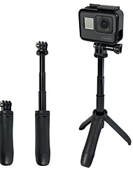 cheap -Tripod Retractable With Tripod with Cup Stand 1 pcs For Action Camera Gopro 6 Gopro 5 Camping / Hiking / Caving Outdoor Hard Alumina