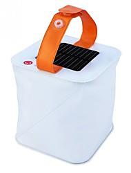 abordables -nouveau portable en plein air nouveauté conception nuit éclairage lampe gonflable solaire lanterne pliage solaire télescopique airbag éclairage lampes