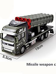 Недорогие -1:48 Пластиковые & Металл Военная техника Машина скорой помощи Пожарная машина Игрушечные грузовики и строительная техника моделирование Дети Игрушки на солнечных батареях