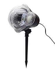 cheap -BRELONG Christmas Garden Light Outdoor Lighting Snowflake Insert Projector 1 pc