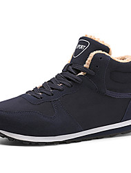 cheap -Women's Athletic Shoes Creepers Round Toe Suede Sporty / Casual Walking Shoes Winter Black / Dark Blue