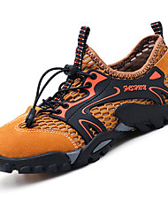 cheap -Men's Comfort Shoes Mesh / Synthetics Summer Sporty / Casual Athletic Shoes Water Shoes / Upstream Shoes Massage Black / Brown / Gray / Non-slipping / Shock Absorbing / Wear Proof