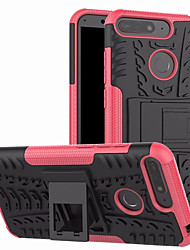 cheap -Case For Huawei Huawei Y6 (2018) with Stand Back Cover Armor Hard PC