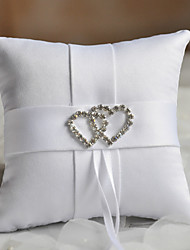 cheap -Fabric Rhinestone Cotton / Linen Ring Pillow Pillow All Seasons