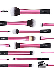 cheap -Professional Makeup Brushes Makeup Brush Set 16pcs Synthetic Plastic for