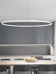 cheap -LED Circular Pendant Light Nordic Modern Simple Ambient Light Painted Finishes Aluminum Multi-shade Adjustable 110-120V 220-240V