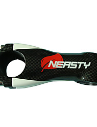 cheap -NEASTY 31.8 mm Bike Stem 100 mm Carbon Fiber Lightweight High Strength Easy to Install for Cycling Bicycle 3K