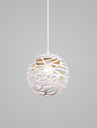 cheap -1-Light CONTRACTED LED Globe / Novelty Pendant Light Downlight Painted Finishes Aluminum Creative, New Design, Lovely 110-120V / 220-240V