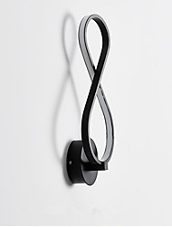 cheap -New Design Simple / Modern / Contemporary Flush Mount wall Lights Bedroom / Study Room / Office Metal Wall Light IP44 220-240V 18 W
