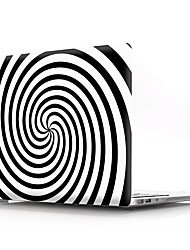 cheap -MacBook Case for Air Pro Retina 11 12 13 15 Geometric Pattern PVC Laptop Cover Case for Macbook New Pro 13.3 15 inch with Touch Bar