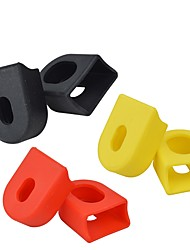cheap -mi.xim Bike Crank Protector Safety Sports For Road Bike Mountain Bike MTB Cycling Bicycle Rubber Gold Black Red