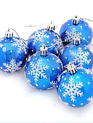 cheap -Christmas Ornaments Christmas Tree PVC Circular Christmas Decoration