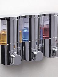 cheap -Soap Dispenser Premium Design Shampoo Conditioner Body Gel Dispenser Plastic + PCB + Water Resistant Epoxy Cover 1pc Wall Mounted