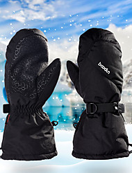 cheap -Sports Gloves Winter Gloves Ski Gloves Men's Women's Snowsports Full Finger Gloves Winter Waterproof Windproof Warm PU Leather Spinning Cotton Skiing Snowsports Snowboarding