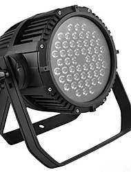 cheap -Stage Lighting 54 3W Waterproof Par Light Outdoor Courtyard Flood Light Outdoor Wedding Show T Stage Catwalk Dye bar Light TV Theater Color Mixing Lamp