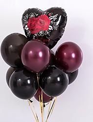 Недорогие -Воздушный шар Латекс 10 шт. Свадебные прием